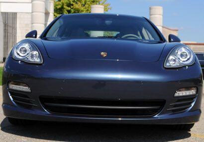 Su frente es indudablemente Porsche.