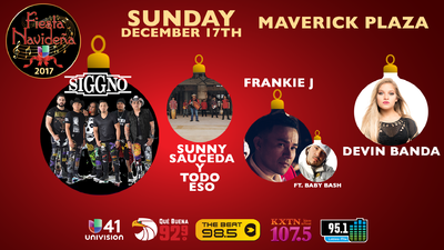 Fiesta Navidena - Sunday, December 17th