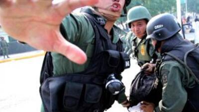 Heridos durante protestas contra el gobierno de Nicolás Maduro en Venezu...