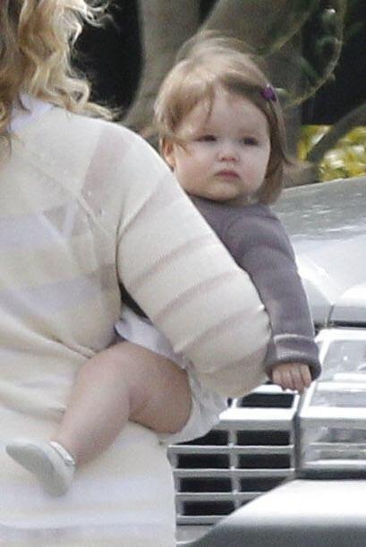 Antes de la llegada de Harper la famosa pareja ya contaba con tres hijos...