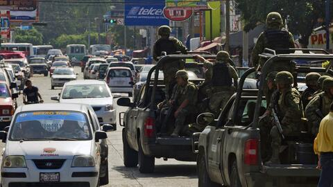 ONU urge a México a retirar soldados de las calles