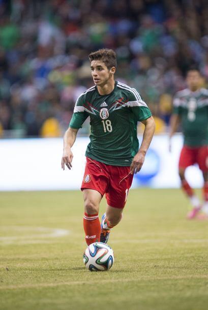 Isaac Brizuela tenía 19 años y poco de haber debutado con Toluca; al tie...