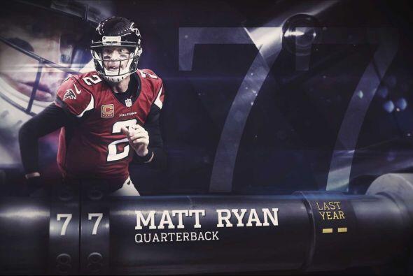 #77 Matt Ryan.