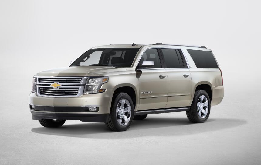 Los 10 autos con menor confiabilidad en Estados Unidos 2017-Chevrolet-Su...