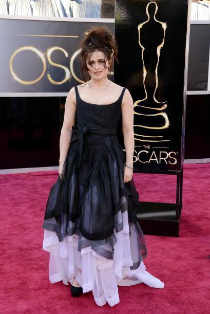 Tal parece que para Helena Bonham Carter todos los días son Halloween. N...