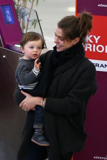Uff! El pequeño Raphaël ya despunta para ser un galanazo.