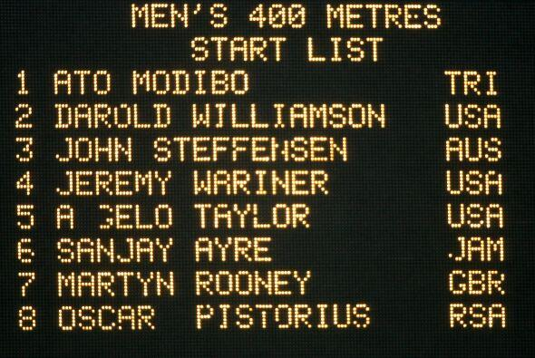 Para 2005, Pistorius tenía ya la mira en las competencias sin discapacid...