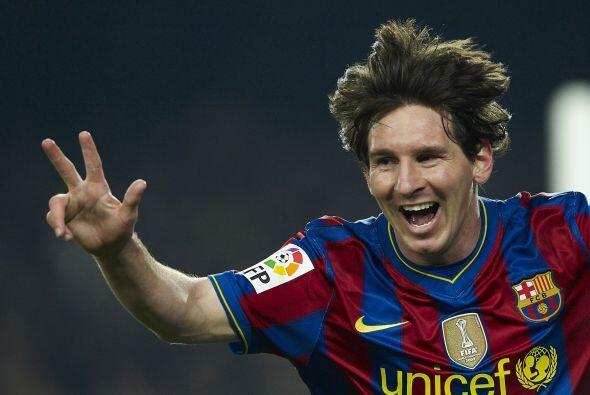 Lionel tendría una semana mágica y llena de goles en Marzo del 2010 al c...