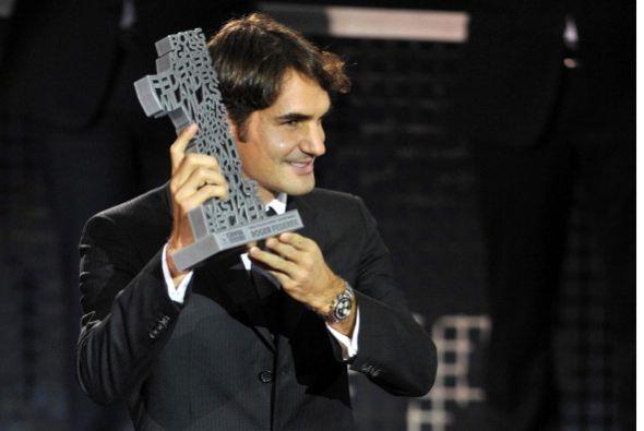 A pesar de la mala temporada que hasta la fecha Roger Federer había teni...