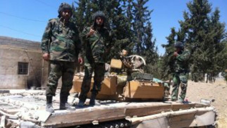 """El ejército sirio """"está movilizado"""" y """"tiene el dedo en el gatillo""""."""