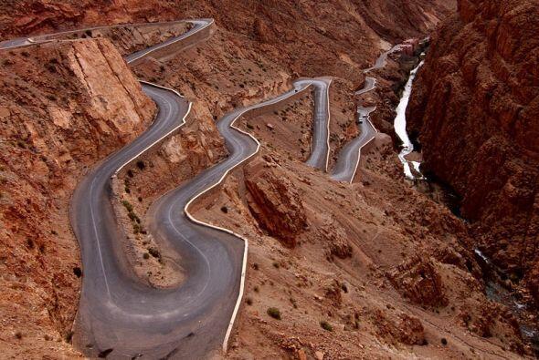 Dades Gorges, High Atlas, Moroco  (Foto: Rosino)