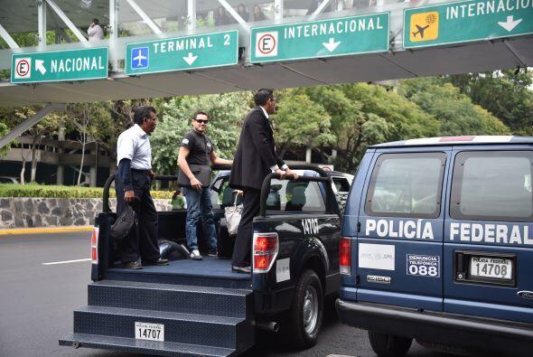 Los medios de comunicación reportaron enfrentamientos entre policías y m...