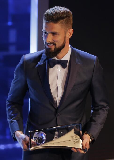 Premio Puskas 2017: Olivier Giroud (Arsenal F.C.)