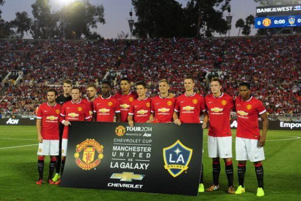 El Manchester United presentará una cara renovada en la temporada...