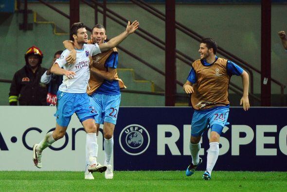 Al final fue festejo del Trabzonspor.