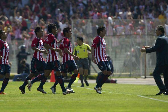En el Clausura 2011 fue en la jornada seis del torneo cuando se enfrenta...