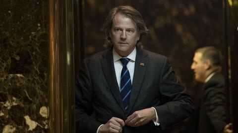 Donald F. McGahn será el nuevo Consejero de la Casa Blanca bajo la admin...