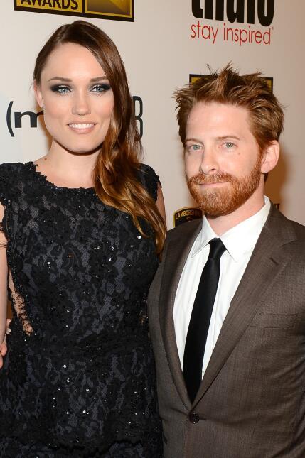 Clare Grant y Seth Green