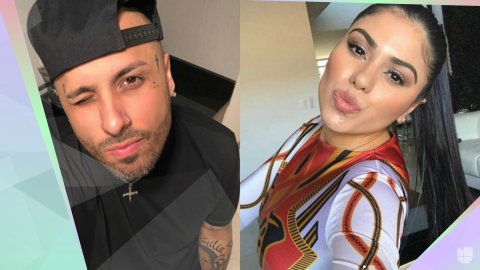 Nicky Jam Angélica Cruz