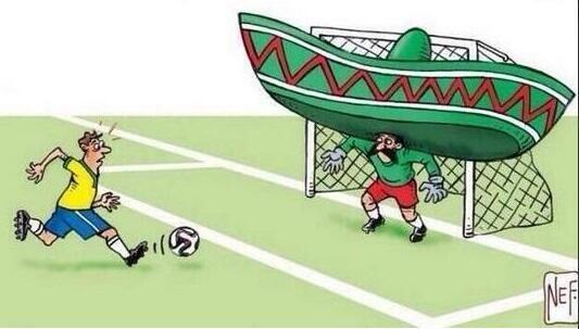 Representación en cómic. Todo sobre el Mundial de Brasil 2014.