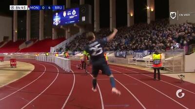 ¡GOOOL! Ruud Vormer anota para Club Brugge