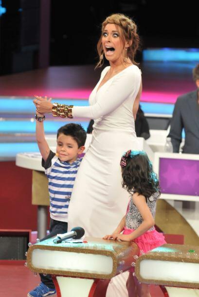 La muestra de baile de André hizo temblar un poco a Gali pues el pequeño...