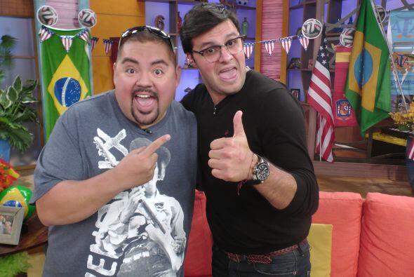 """Gabriel """"Fluffy"""" Iglesias estuvo en el programa para presentar """"The Fluf..."""