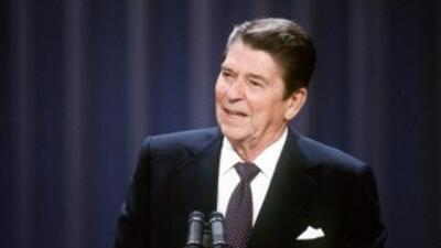 El expresidente de Estados Unidos, Ronald Reagan.