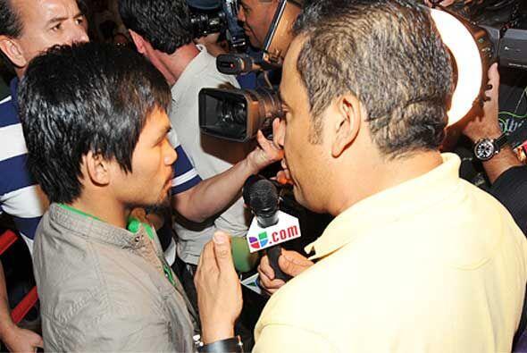 Rafa Brito 'El Alcalde', pronosticó un triunfo del filipino, pero tambié...