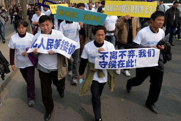 Los familiares chinos en Pekín han sido en las últimas semanas los más c...