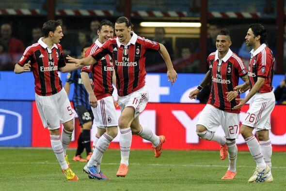 Milan esperaba poder manejar el resultado en esta nueva edición de su 'd...