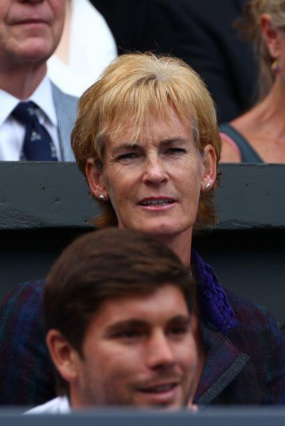 Judy Murray, mamá de Andy.