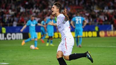 El cuadro andalúz vino de atrás para llevarse la victoria sobre el Zenit.