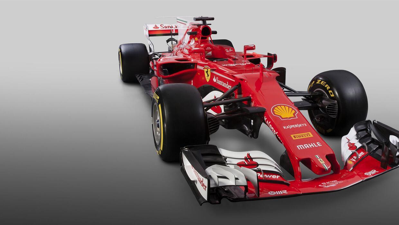 Ferrari devela su nuevo monoplaza SF70H