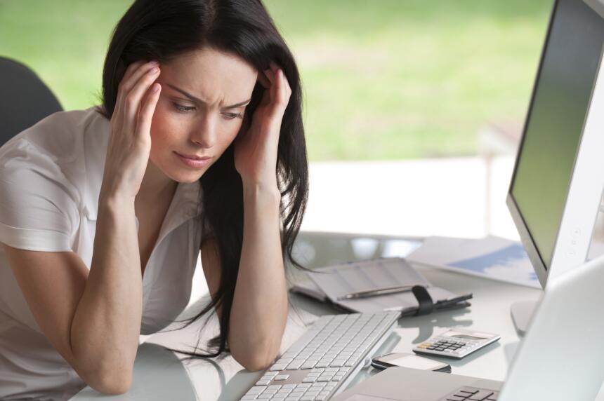 Muchas personas se sienten ansiosas cuando se enfrentan a un reto labora...