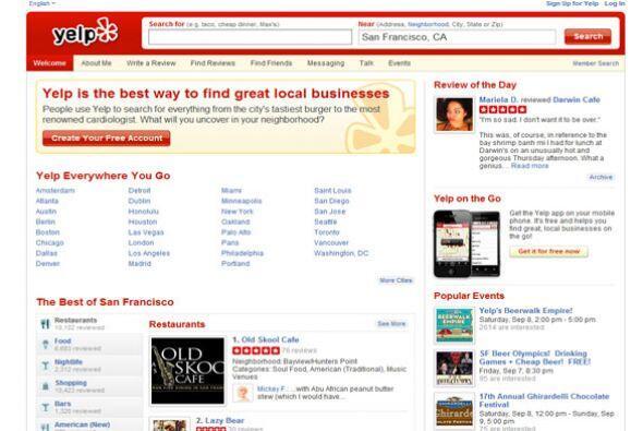 YELP- La empresa de internet y ventas busca ejecutivo de cuenta y repres...