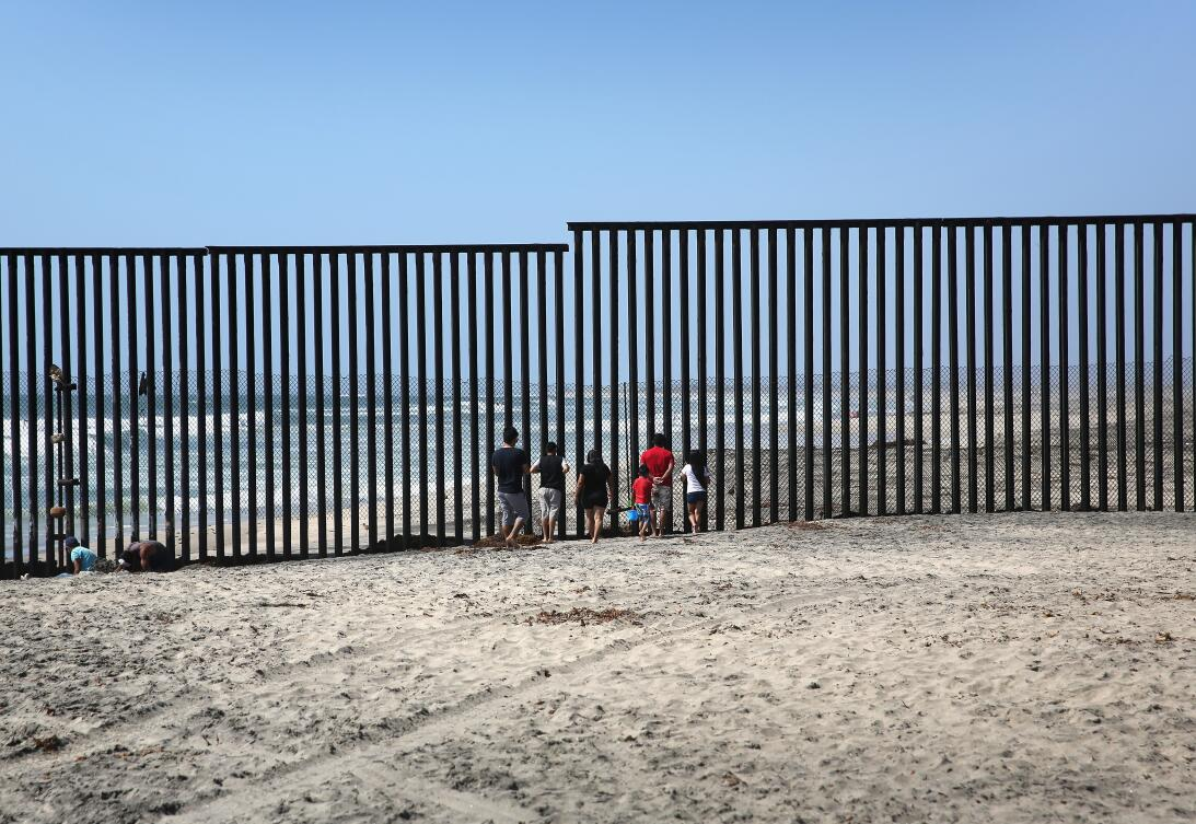 At the border
