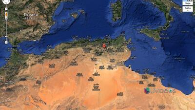 Cientos de muertos al estrellarse un avión militar en Argelia