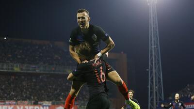 En fotos: Croacia va al todo o nada en el grupo 4 de la Liga A tras derrotar a España