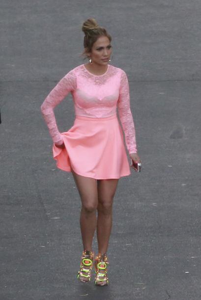El vestido no nos pareció tan terrible, lo que de plano no nos gustó es...