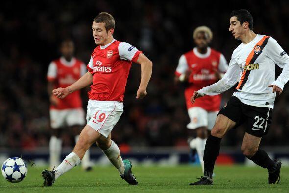 En Inglaterra, el Arsenal recibió la visita del Shakhtar Donetsk.