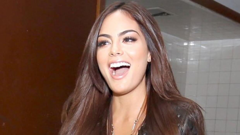 Ximena Navarrete toma clases de actuación.