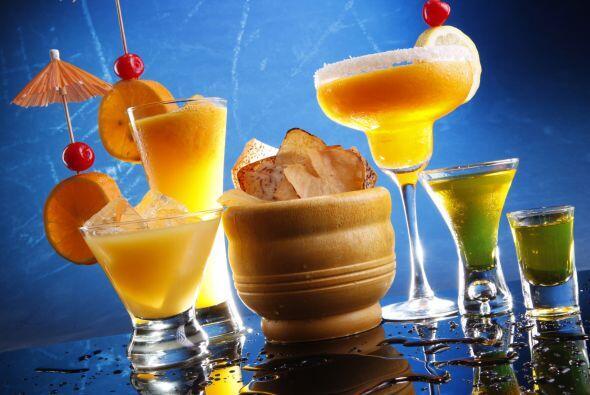 Para las bebidas lo recomendable es preparar tragos que se puedan servir...