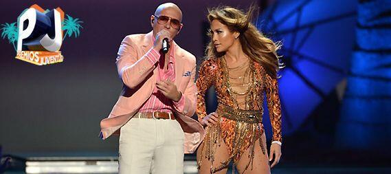 """#34 Jennifer Lopez y Pitbull- """"Live It Up""""."""