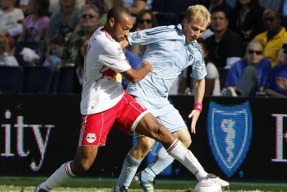 Thierry Henry estuvo muy por debajo de su nivel y además salió expulsado...