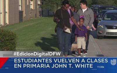 Miles de estudiantes del Metroplex regresan a clases