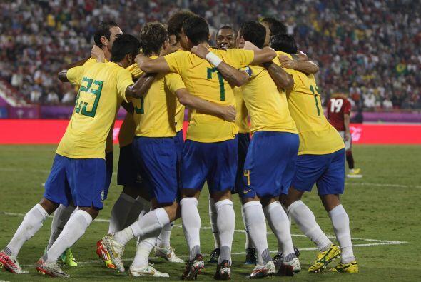 Aquí las mejores imágenes del encuentro amistoso entre Brasil vs. Egipto...