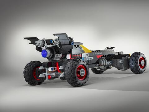 Batimóvil de The LEGO Batman Movie
