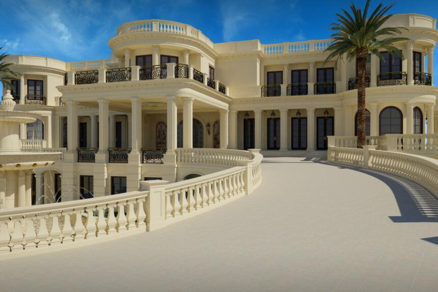 La residencia ubicada en Broward está a la venta por unos $159 millones...