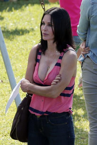 No sólo notamos lo bien que se veía en esa blusa.